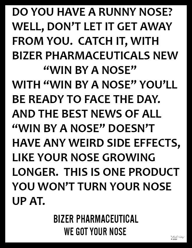 Bizer Pharmaceutical - Win By A Nose