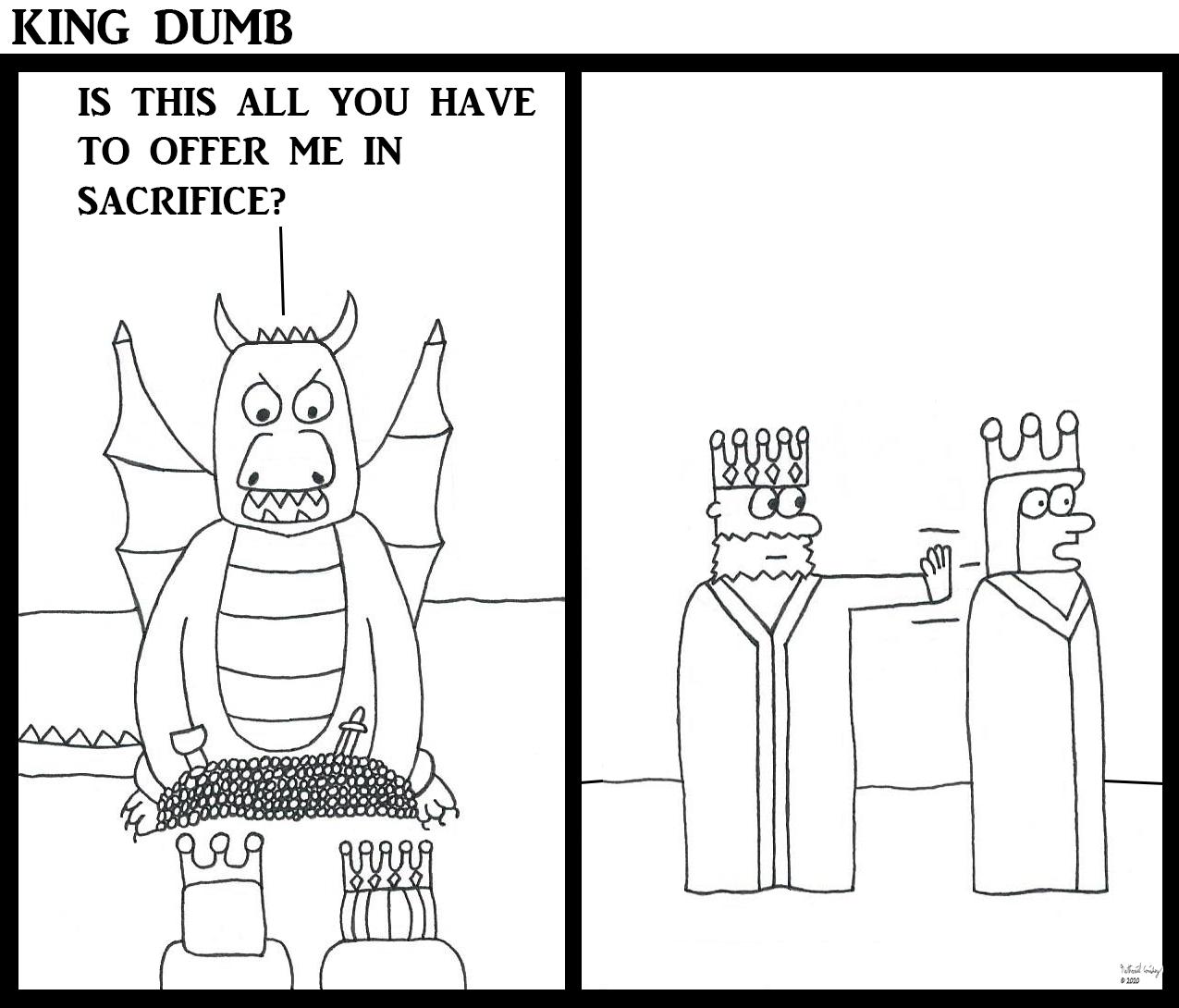 King Dumb - Dragon Sacrifice