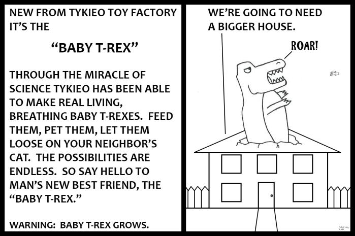 Tykieo Toy Factory - Baby T-Rex