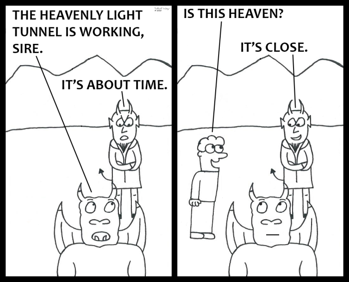 Devil - Heavenly Light Tunnel (part 2)