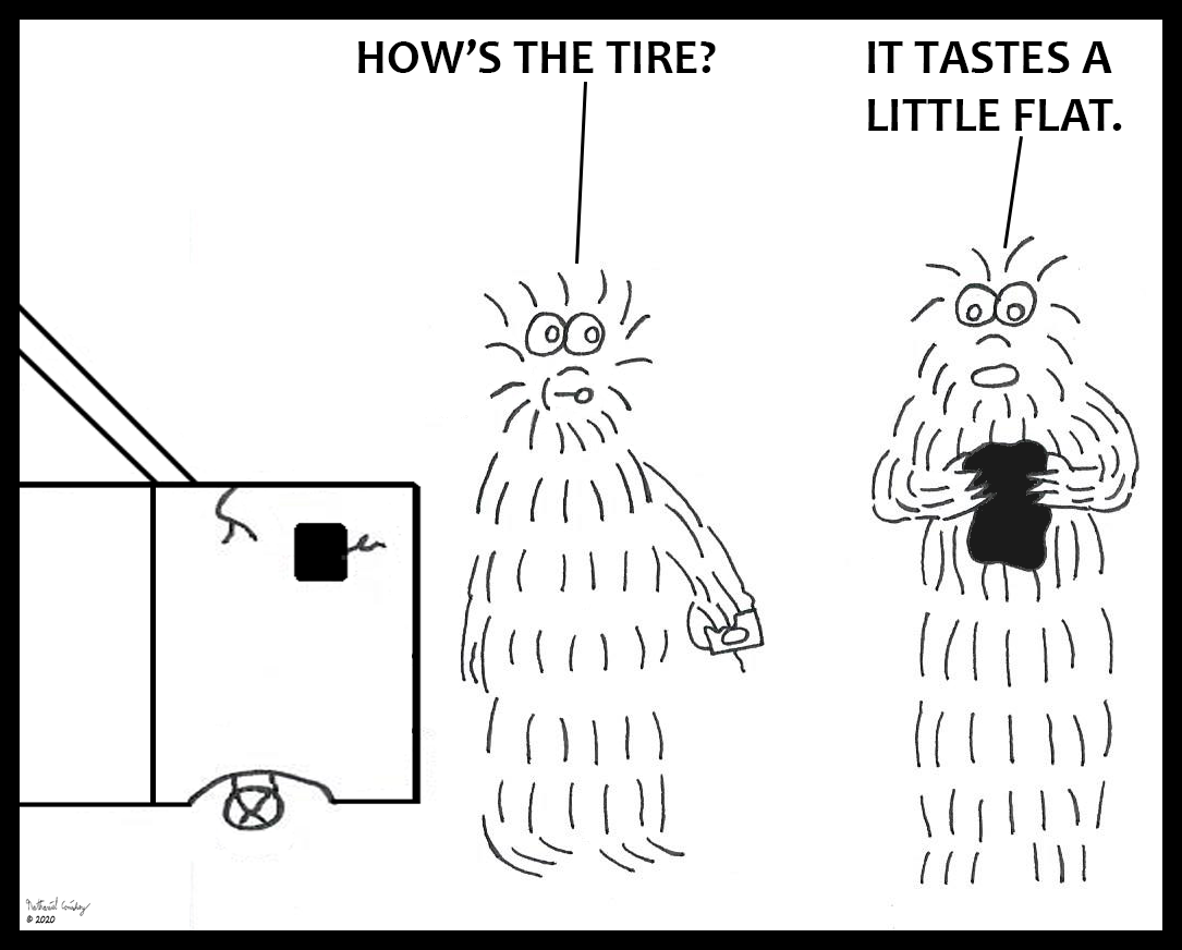 Monster - Flat Tire
