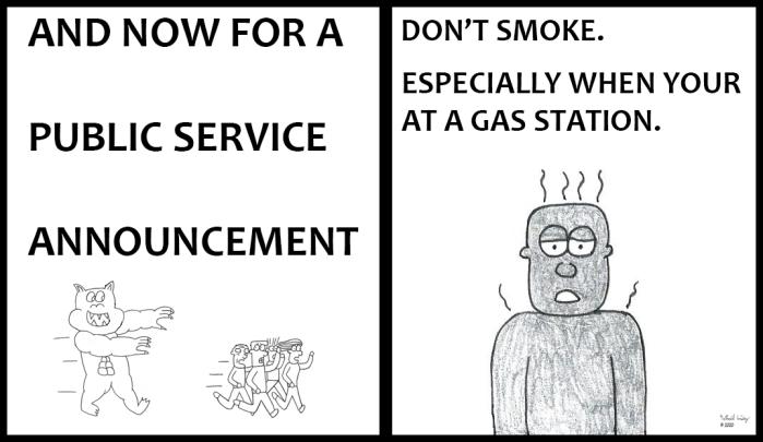 PSA - Don't Smoke