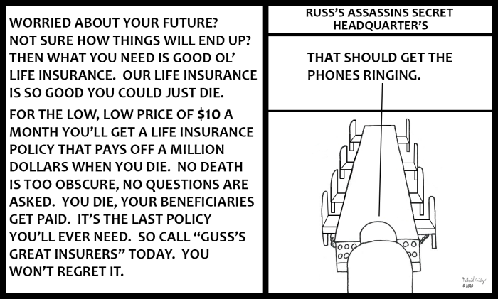 Russ's Assassins - Funds Meeting 2